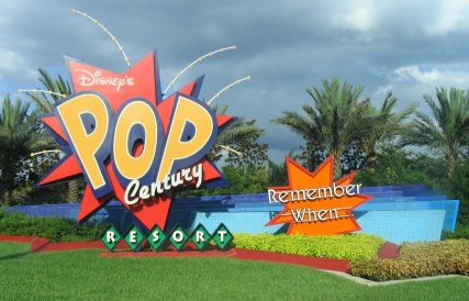Pop Century, a great choice for a value resort!