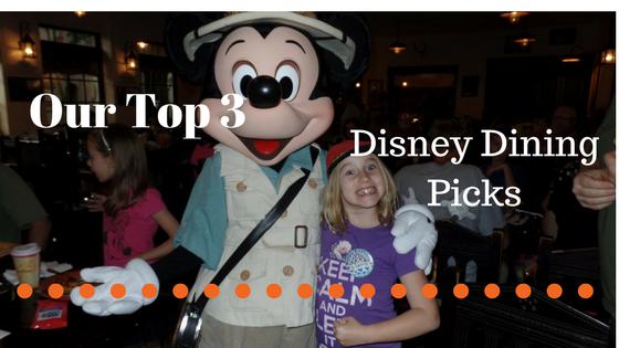Our 3 Favorite DisneyEats