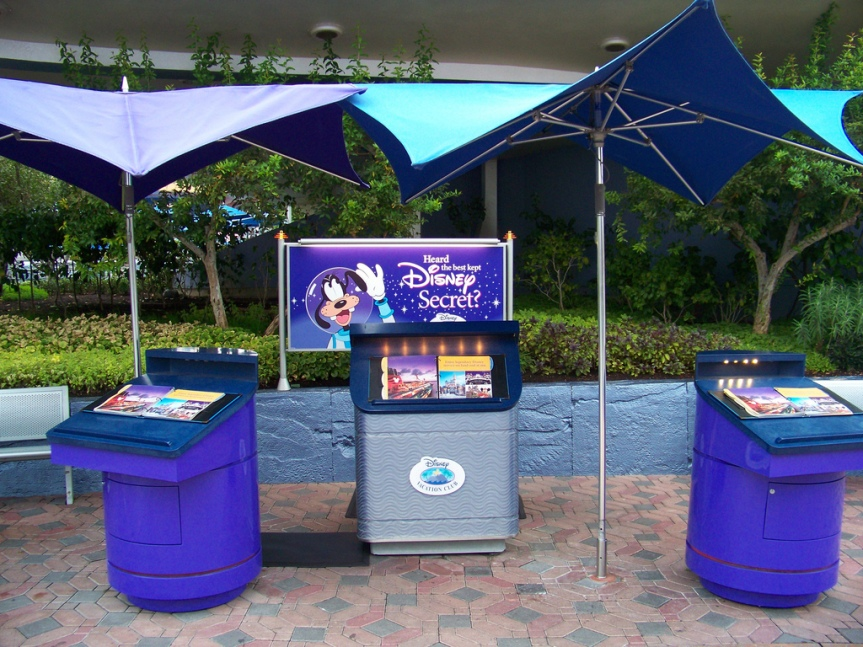 DVC Kiosk in Tomorrowland