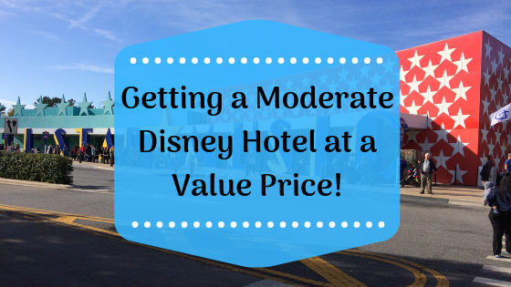 How We Got a Moderate Disney Hotel Room for the Price of a Value