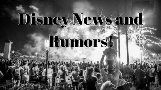 So Much Disney News!